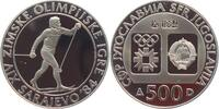 500 Dinar 1984 Jugoslawien Olympische Spiele 1984 in Sarajevo - Langlau... 19,00 EUR  +  6,95 EUR shipping