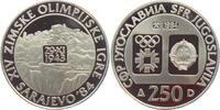 250 Dinar 1984 Jugoslawien Olympische Spiele 1984 in Sarajevo - Jajce -... 24,00 EUR  +  6,95 EUR shipping