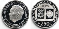 250 Dinar 1984 Jugoslawien Olympische Spiele 1984 in Sarajevo - Tito PP  24,00 EUR  zzgl. 4,95 EUR Versand