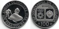 100 Dinar 1983 Jugoslawien Olympische Spiele 1984 in Sarajevo - Bobrenn... 9,95 EUR  zzgl. 2,95 EUR Versand