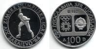 100 Dinar 1984 Jugoslawien Olympische Spiele 1984 in Sarajevo - Eisschn... 9,95 EUR  zzgl. 2,95 EUR Versand