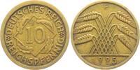 10 Reichspfennig 1925 F Weimarer Republik 10 Reichspfennig - Ährenbünde... 9,95 EUR  zzgl. 2,95 EUR Versand