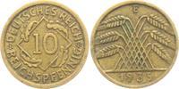 10 Reichspfennig 1935 E Weimarer Republik 10 Reichspfennig - Ährenbünde... 5,95 EUR  zzgl. 2,95 EUR Versand