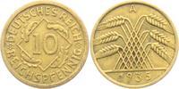 10 Reichspfennig 1935 A Weimarer Republik 10 Reichspfennig - Ährenbünde... 2,95 EUR  +  3,95 EUR shipping