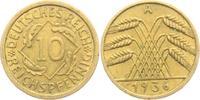 10 Reichspfennig 1936 A Weimarer Republik 10 Reichspfennig - Ährenbünde... 3,95 EUR  zzgl. 2,95 EUR Versand