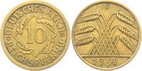 10 Reichspfennig 1936 F Weimarer Republik 10 Reichspfennig - Ährenbünde... 4,95 EUR  zzgl. 2,95 EUR Versand