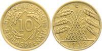 10 Reichspfennig 1932 E Weimarer Republik 10 Reichspfennig - Ährenbünde... 14,95 EUR  zzgl. 4,95 EUR Versand