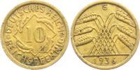 10 Reichspfennig 1936 G Weimarer Republik 10 Reichspfennig - Ährenbünde... 3,95 EUR  zzgl. 2,95 EUR Versand