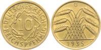 10 Reichspfennig 1935 G Weimarer Republik 10 Reichspfennig - Ährenbünde... 4,95 EUR  zzgl. 2,95 EUR Versand
