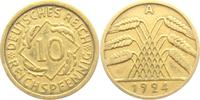10 Reichspfennig 1924 A Weimarer Republik 10 Reichspfennig - Ährenbünde... 1,95 EUR  zzgl. 2,95 EUR Versand