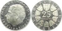 25 Schilling 1973 Österreich Max Reinhard PP  9,95 EUR  zzgl. 2,95 EUR Versand