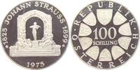 100 Schilling 1975 Österreich Johann Strauss - Musik PP  14,95 EUR  zzgl. 4,95 EUR Versand