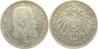 5 Mark 1907 F Württemberg Wilhelm II. König von Württemberg (1891 - 191... 34,00 EUR  zzgl. 4,95 EUR Versand