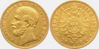 20 Mark 1875 A Braunschweig Wilhelm (1831-1884) f.vz  1575,00 EUR kostenloser Versand