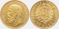 10 Mark 1876 G Baden Friedrich  (1856-1907) ss/vz  249,00 EUR  zzgl. 6,95 EUR Versand