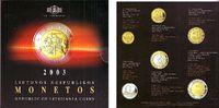 KMS - 8,80 Litas 2003 Litauen Kursmünzsatz 6 Werte - 10 Centu bis 5 Lit... 16,95 EUR  zzgl. 4,95 EUR Versand