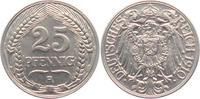 25 Pfennig 1910 A Kaiserreich 25 Pfennig - Ähren vz  8,95 EUR  zzgl. 2,95 EUR Versand