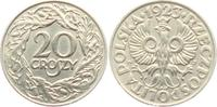 20 Groszy 1923 WJ Polen 2. Republik in Polen (1918 - 1939) gutes vz  4,95 EUR  zzgl. 2,95 EUR Versand