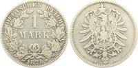 1 Mark 1878 A Kaiserreich 1 Mark - kleiner Adler ss  9,95 EUR  zzgl. 2,95 EUR Versand