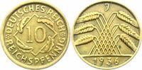10 Reichspfennig 1936 J Weimarer Republik 10 Reichspfennig - Ährenbünde... 4,95 EUR  zzgl. 2,95 EUR Versand