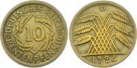 10 Rentenpfennig 1924 D Weimarer Republik 10 Rentenpfennig ss  1,95 EUR  zzgl. 2,95 EUR Versand