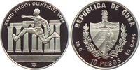 10 Pesos 2002 Kuba Olympische Spiele 2004 in Athen - Dreisprung PP  19,95 EUR  +  6,95 EUR shipping