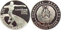 20 BYR 2003 Weißrussland Olympische Spiele 2004 in Athen - Kugelstoßen ... 27,95 EUR  +  6,95 EUR shipping