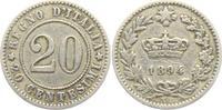 20 Centesimi 1894 KB Italien Umberto I. (1878 - 1900) ss-vz  6,00 EUR  +  3,95 EUR shipping
