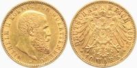 20 Mark 1902 F Württemberg König Wilhelm II. von Württemberg (1891-1918... 349,00 EUR  +  9,95 EUR shipping