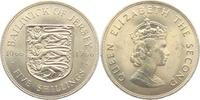 5 Shillings 1966 Jersey Wappen vz  4,95 EUR  +  3,95 EUR shipping
