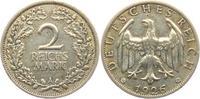 2 Reichsmark 1926 A Weimarer Republik Reichsmark Kursmünze ss  9,95 EUR  +  3,95 EUR shipping