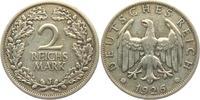 2 Reichsmark 1926 J Weimarer Republik Reichsmark Kursmünze ss  12,95 EUR  +  6,95 EUR shipping