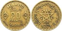 20 Francs 1371 AH Marokko Stern ss  1,95 EUR  +  3,95 EUR shipping
