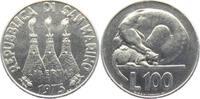 100 Lire 1975 San Marino Hund und Katze unc.  4,95 EUR  +  3,95 EUR shipping