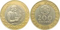 200 Escudos 1991 Portugal Garcia de Orta prägefrisch  4,95 EUR  +  3,95 EUR shipping