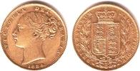 1 Sovereign 1884 M Australien Queeen Victoria (1837-1901) ss/vz  349,00 EUR  +  9,95 EUR shipping