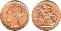 1 Sovereign 1886 M Australien Queeen Victoria (1837-1901) vz  379,00 EUR  +  9,95 EUR shipping