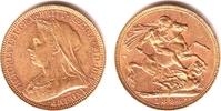 1 Sovereign 1894 M Australien Queeen Victoria (1837-1901) ss/vz  369,00 EUR  +  9,95 EUR shipping