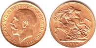 1 Sovereign 1914 Großbritannien Georg V. (1910-1936) pfr.  379,00 EUR  +  9,95 EUR shipping