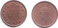 1/12 Anna 1941 Indien George VI. (1936 - 1952) f.st  4,95 EUR  +  3,95 EUR shipping