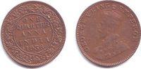 1/4 Anna 1936 Indien George V. (1910 - 1936) vz-st  12,95 EUR  +  6,95 EUR shipping