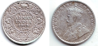 2 Annas 1915 Indien George V. (1910 - 1936) vz  29,95 EUR  +  6,95 EUR shipping