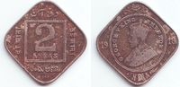 2 Annas 1918 Indien George V. (1910 - 1936) ss  9,95 EUR  +  3,95 EUR shipping