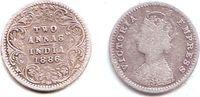 2 Annas 1886 Indien Victoria (1837 - 1901) ss  7,95 EUR  +  3,95 EUR shipping