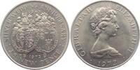 25 New Pence 1972 Gibraltar Silberhochzeit st  6,95 EUR  +  3,95 EUR shipping