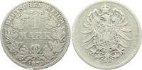 1 Mark 1875 E Kaiserreich 1 Mark - kleiner Adler s-ss  6,95 EUR  +  3,95 EUR shipping