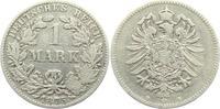 1 Mark 1875 B Kaiserreich 1 Mark - kleiner Adler s-ss  9,95 EUR  +  3,95 EUR shipping