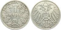1 Mark 1901 D Kaiserreich 1 Mark - großer Adler ss  9,95 EUR  +  3,95 EUR shipping