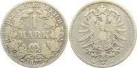 1 Mark 1877 A Kaiserreich 1 Mark - kleiner Adler ss  9,95 EUR  +  3,95 EUR shipping