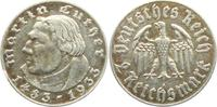 2 Reichsmark 1933 A Drittes Reich Martin Luther ss  16,00 EUR  +  6,95 EUR shipping